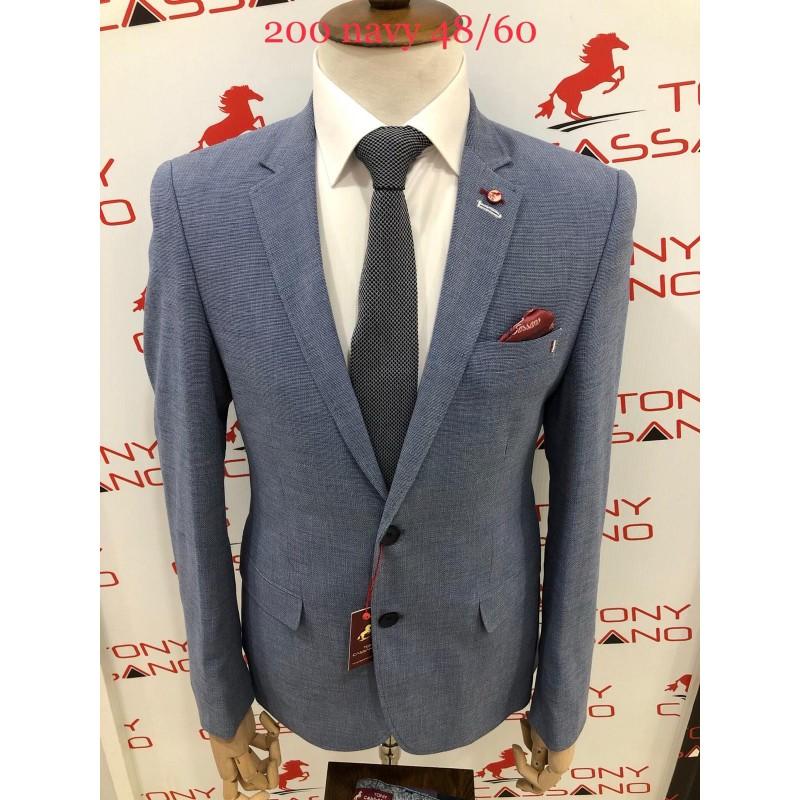 Пиджак мужской TONY CASSANO 2 BUTTON 270 NAVY